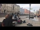 Уличные музыканты. Питер