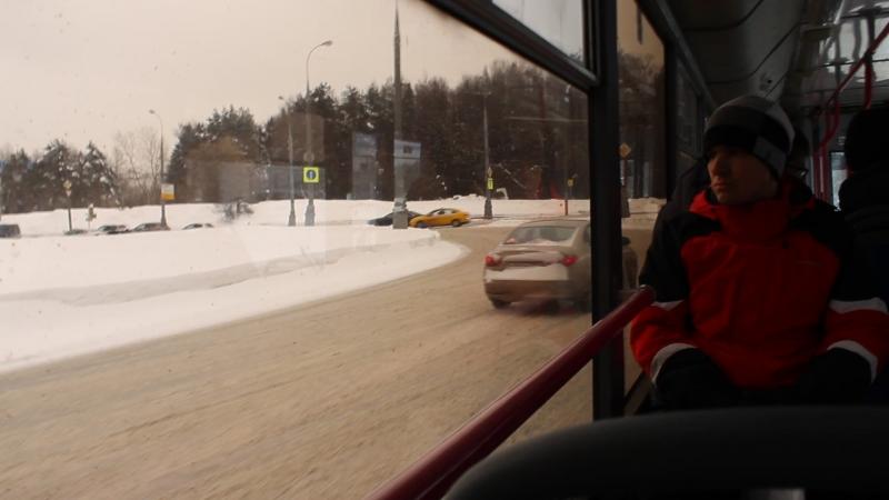 Поездка на троллейбусе БТЗ-52763Т (КР СВАРЗ) №3950 от Нахимовского проспекта до Балаклавского проспекта (часть 2)