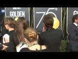 Elisabeth Moss, Zac Efron, and more appear on 2018 Golden Globes Red carpet