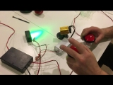 magic penetralium escape props Real green laser array chamber of escape game secret funny laser safe maze game