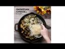 Боюсельская капуста с чесноком, сыром и беконом