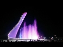 Олимпийский парк в Сочи. Шоу фонтанов