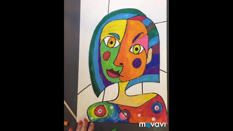 Рисуем в стиле Пикассо