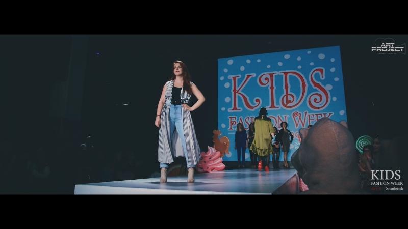Kids fashion Week Smolensk 2018 day 4 Стилисты Закрытие