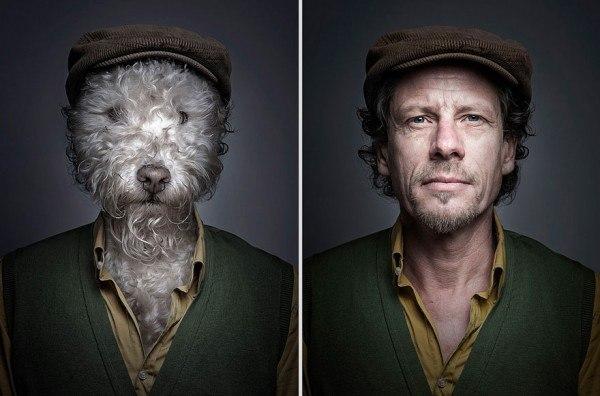 Похожи ли собаки на своих хозяев: Себастьян Маньяни
