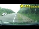 ДТП 22.08.17 в 13:02 на 200-м километре трассы Комсомольск-на-Амуре - Хабаровск перевернулся военный автомобиль. Оба были прис