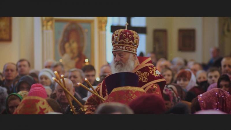 Пристольный праздник Свято Варваринский Собор г Пинск 2017