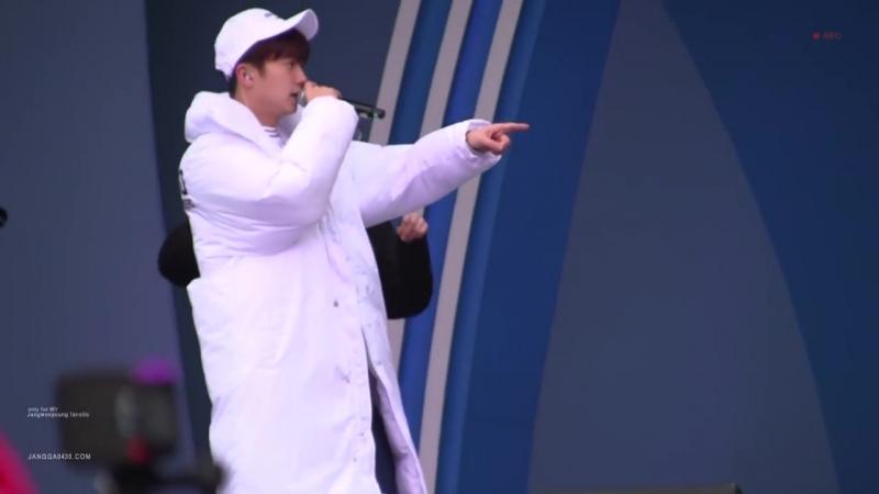 [FANCAM] WOOYOUNG(우영) _ 평창 헤드라이너쇼 - JUMP (리허설)