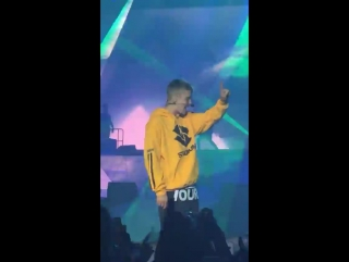 June 25: Fan taken video of Justin performing 'Let Me Love You' at the Wireless Festival in Frankfurt, Germany.