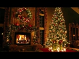 Classic Christmas Music with a Fireplace and Beautiful Background (Classics) (2 hours) (2017) - YouTube