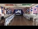 Оформление свадьбы в ярко синем цвете Кафе Турана г Чапаевск