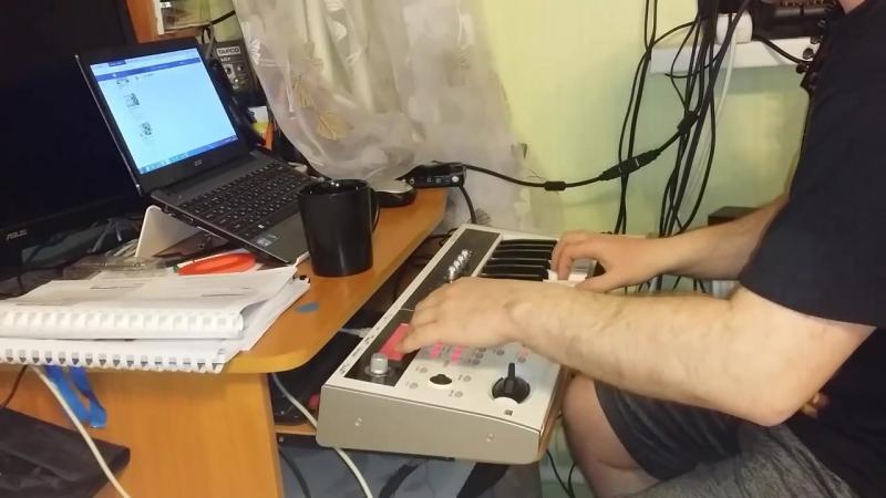 ReznikSAR Леприконсы - ХалиГали (AccordionTrumpet) Korg MicroX