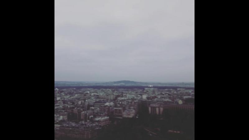 Вид с Эйфелевой башни!! Париж!!
