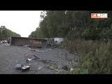 Разбросаны части машин, останки людей_ на Полевском тракте в ДТП погибли 8 человек