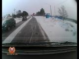 Видео с регистратора наезд на ребенка г. Лесосибирск на переходе 07.02.2018
