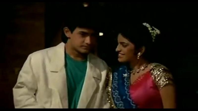 Любовь, любовь, любовь. Индийский фильм. 1989 год. В ролях Амир Кхан.