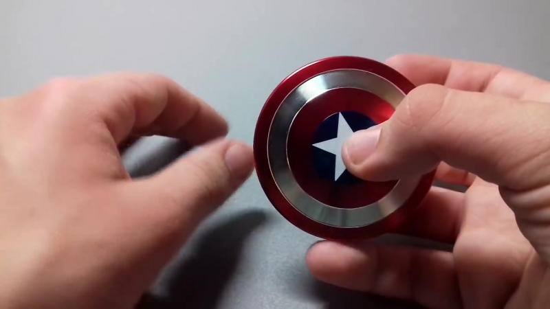 Фиджет Спиннер Капитан Америка / Captain America Shield Spinner