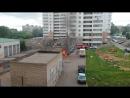 Горит мусорка на Российской 25. 9 августа 17