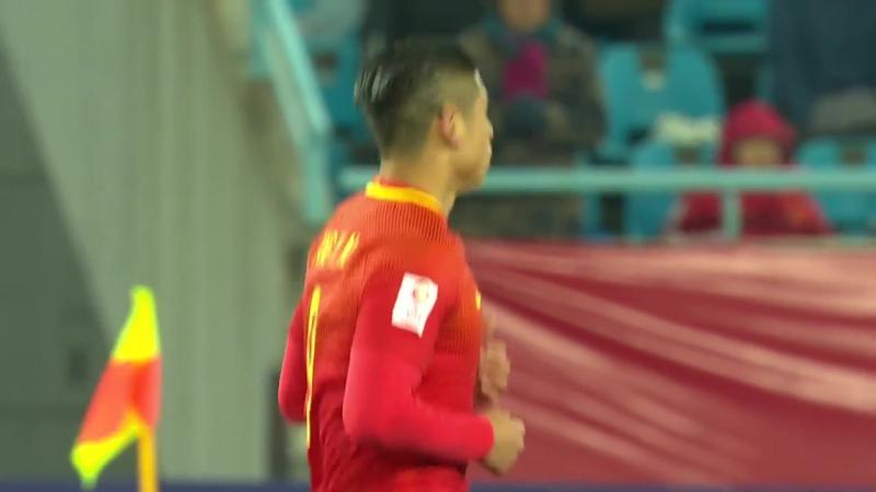 Молодежный Кубок Азии-U23-2018-А2-12.01.18. Узбекистан - Китай (неполный матч)