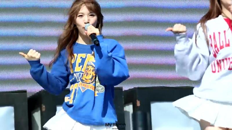 150516 Red Velvet – Ice Cream Cake (Wendy Focus) @ Pyeongchang Winter Olympic G-1000 Event Fancam