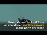 Француз совершил полет над Ла-Маншем на летающем авто