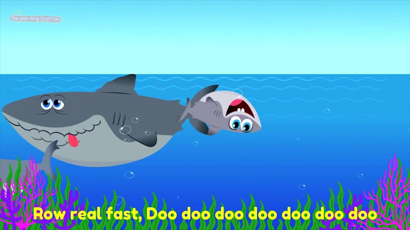 Baby Shark Song ♫ Animal Songs Camp Songs ♫ Action Dance Kids Songs by The Learning Station