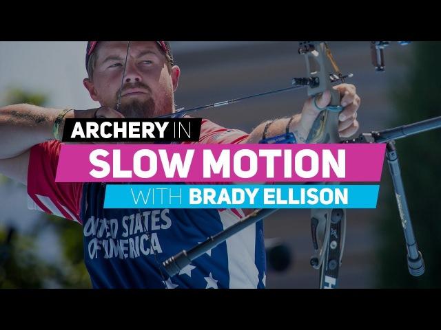 Archery in slow motion S01E04 Brady Ellison