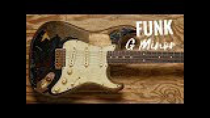 Bluesy Funk Guitar Backing Track Jam in Gm