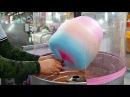 Japanese Street Food - COTTON CANDY ART Chicken, Rabbit, Bear Japan