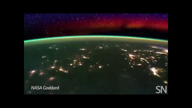 See Earths ionosphere from the ISS | Science News