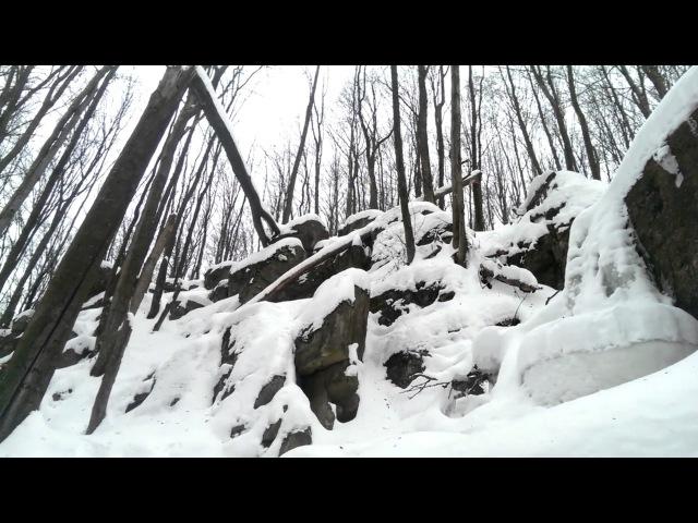Наш Водопад Скакун Зимой 2017 - Мукачевский Район Природа Карпат Закарпатья