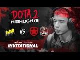 NAVI Dota2 Highlights vs Gambit, Team Empire @ SL i-League Invitational S3
