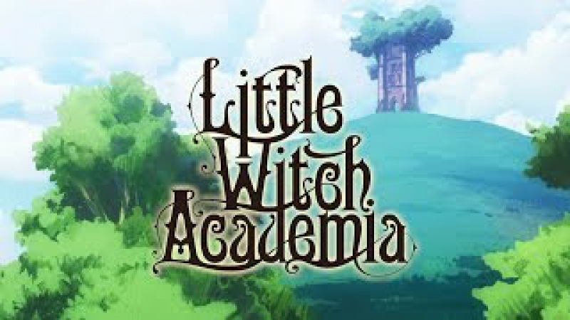 Little Witch Academia Chamber of Time Announcement Trailer PS4 PC
