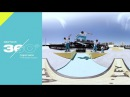 Dew Tour 360° Video: Jordan Maxham Rips The Gaps Course at Dew Tour Long Beach 2017