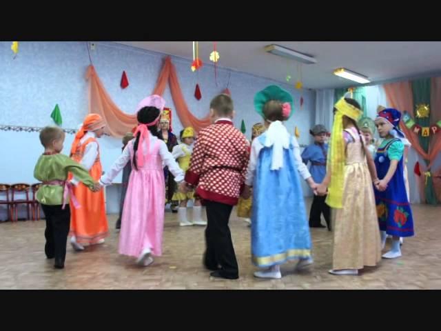 красивый танец в детском саду о моя россия
