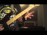 Silent Scream guitar lesson