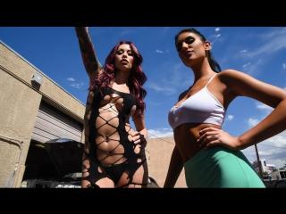 August Ames, Monique Alexander [HD 1080, Big Tits, Brunette, Lesbian, MILF, Natural Tits, Threesome, All Sex, New Porn 2017]