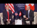 President Trump participates in a bilateral meeting with the President of the Swiss Confederation Al_0_0