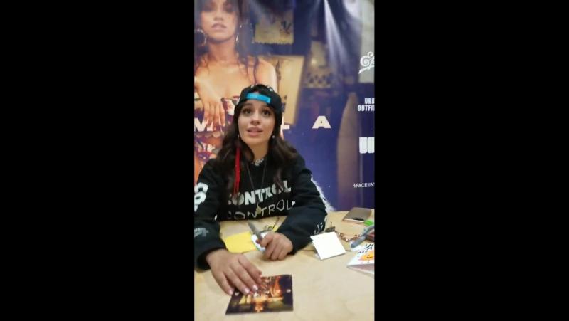 [VIDEO] Camila at the event in LA