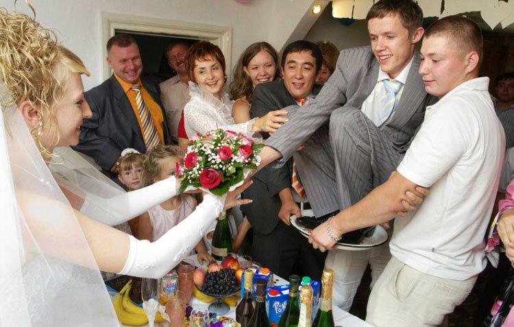 Конкурс на выкупе невесты за что женился
