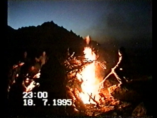 Как мы зажигали священный огонь на горе Барагхан.