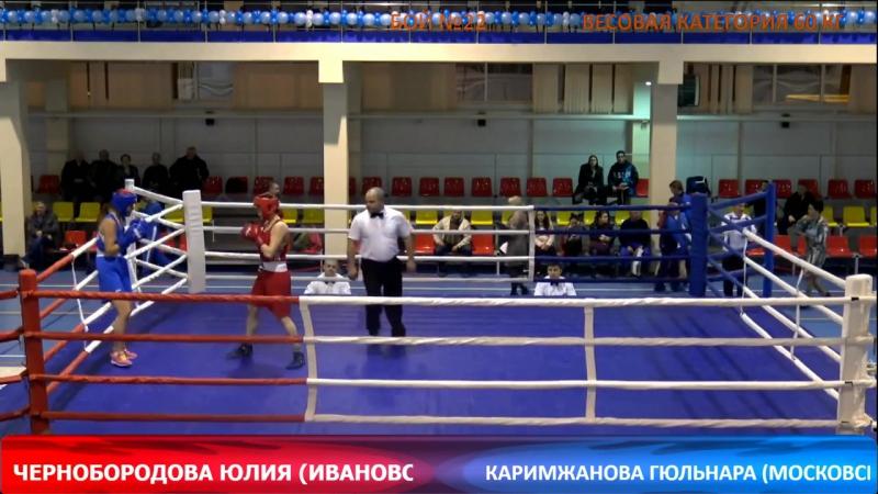 ЦФО город Серпухов полуфинал Чернобородова Юлия