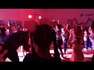 Мастер класс на новогодней вечеринке в Imperial Dance Club