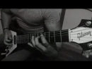 Pantera - Floods guitar solo cover by Diego Guillen