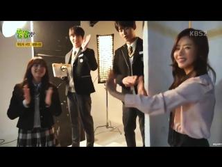 04.12.17 Jonghoon @ KBS2 Unexpected Heroes poster filming