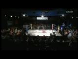 6. OZ Academy OZ Academy Tag Team Championship -  Kagetsu, Kaho Kobayashi (c) Vs. Mayumi Ozaki, Mio Shirai (7--19--15)