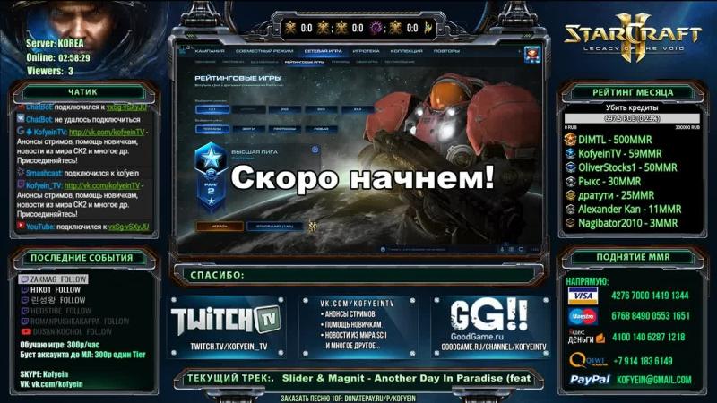 StarCraft II: KR ладдер, Терран Т1 МЛ