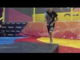 Тренировка в школе акробатики (Декабрь)