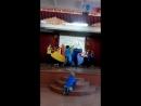 Танец с тканями