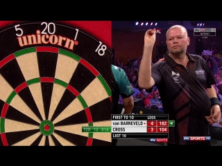 Raymond van Barneveld vs Rob Cross (Grand Slam of Darts 2017 / Round 2)